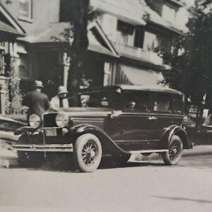 Late 1920s Hupmobile at 10 Withrow Avenue Toronto Ontario Canada Photo Original