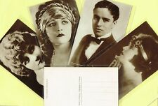 CINEMAGAZINE - 1920s Silent Film Star Postcards issued in France #1 to #150