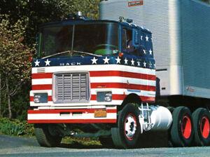 """TEKNO 71568 MACK F 700 TRACTEUR SOLO 6X4  """" USA """" MINT IN BOX"""