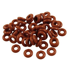 50 Pcs Silicone O Ring Seal Sealing Washer 3mm x 8mm x 2.5mm