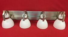 Minka Lavery Hudson Bay 4-Light Brushed Nickel Bath Light 5384-84