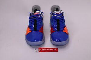 Nike PG 3 NASA Apollo 14 Clipper Blue Paul George Basketball Shoes SZ M 8 W 9.5
