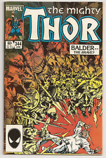 The Mighty Thor #344 (1984) VF 1st app Malekith the Accursed
