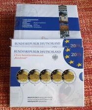 "Set Germany 2019 (2 € ""Bundesrat"" 5 Mints) Proof"