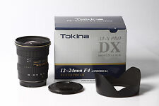 Tokina AT-X AF PRO SD 12-24mm f/4 DX (IF) per Canon