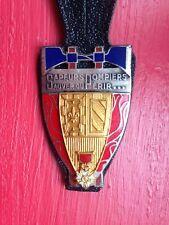 ancien insigne de sapeur pompier de Dijon