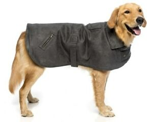 Kazoo Dual Collar Coat with Harness Hatch Cocoa or Grey