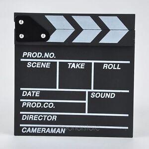 Schwengel Board Film Jagd Zubehör Director TV Film Video Acryl Filmklappe