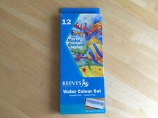 Reeves Fine Water Colours Set  - 12 Colors -