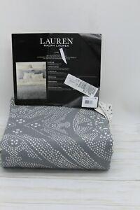 Ralph Lauren Luke Medallion 3-PC FULL/QUEEN Duvet Cover Set Cotton Cream/Grey NW