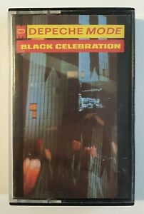 DEPECHE MODE : BLACK CELEBRATION ♦ X-RARE SPAIN Cassette ! Mute # C STUMM 2 ♦