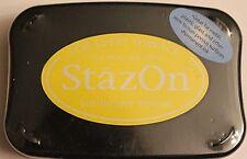 StazOn Solvent Ink Pad SUNFLOWER YELLOW SZ-93 Tsukineko Sealed Brand NEW!