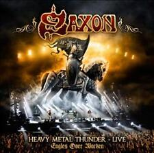 "SAXON ""HEAVY METAL THUNDER - LIVE-EAGLES OVER WACKEN"" 2 CD NEU"