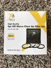 58mm Macro Close-up Lens Filter Set for Fujifilm HS50EXR HS35EXR HS30EXR HS25EXR