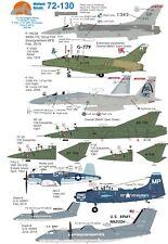 Wolfpak Decals 72130 DRAGON WINGS Sabre F-15 Eagle Saab Draken Skyraider Vought