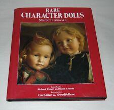 Vintage Book 1987 Rare Character Dolls Maree Tarnowska Many Photos!