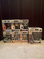 DC Funko Pop Figure Lot - Metallic Deathstroke- Doomsday - Gotham - And More!