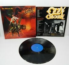 OZZY OSBOURNE - The Ultimate Sin LP (US Promo on CBS Associated, w/Inner)