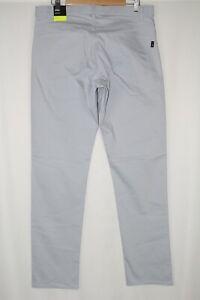 Nike Flex Men's Slim Fit 5-Pocket Golf Pants 34 x 34 Sky Grey 891924 042