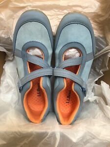 LL BEAN Blue Wave Adventure MARY JANE Shoes SIZE 6 GIRLS SNEAKER NEW