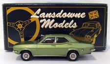 Lansdowne Models 1/43 Scale LDM32X - 1971 Vauxhall VX 4/90 - WMTC Metallic Green