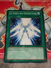Carte YU GI OH LA FORCE DES GENERATIONS REDU-FR063 x 3