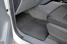 Rugged Rubber Floor Mats for Ford Ranger 2012-20 PX Black 4 Pieces