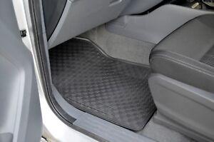 Rugged Rubber Floor Mats for Ford Ranger 2012-20 PX Odourless Tailored