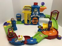 Go! Go! smart wheels VTech Police Station Play set With Vehicles