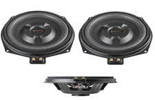 Match CAR AUDIO altavoces UNDERSEAT para adaptarse a Bmw Serie E coches 1 par 150 W Rms