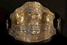 UFC Ultimate Champion Ship Leather Belt Replica Adult Size