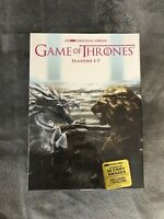 GAME OF THRONES COMPLETE SERIES SEASONS1-7 (DVD, 34-Disc Boxed Set)