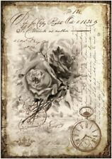 Decoupage-Bastelpapier-Softpapier-Serviettentechnik-Vintage-Nostalgie-12366