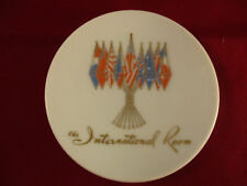 Vintage International Room Tray Yale Hotel Flags