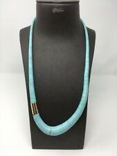 "Turquoise Nishapur Grafuated 30"" Necklace"