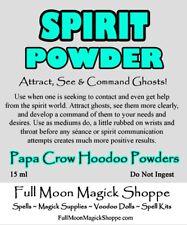 Spirit Hoodoo Voodoo Powder Ghost Help Spirits Communication Medium Power Vision