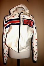 Old School Vintage Lisa France Sport Jacket Stars & Stripes Vintage Wear Aged, L