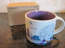 Starbucks Walt Disney World- Epcot -You Are Here Coffee Mug/Cup N.I.B.