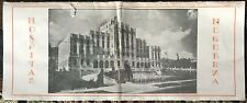 1930s Muguerza Hospital Brochure Mexico 4 X 9 1/2� Folded