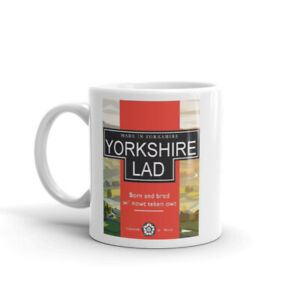 Yorkshire Lad Coffee Tea Cup Cafe Mug Gift