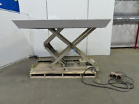 "4000 LB Hydraulic Scissor Lift Table 90""x60"" 13-1/2""-59-3/4""Ht. 230/460V 3Ph"