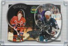"""1998/99 Gretzky """"Now And Then"""" Auto UDA Oversize Card #'d 52/99 Boxed"""