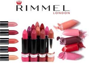 RIMMEL LASTING FINISH SAMPLE CASE LIPSTICK (PACK OF 4) - CHOOSE SHADE **NEW**