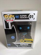 DC Universe Pop! Vinyl Figure Glow In Dark #01 Batman W/Protector