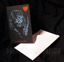 Predator Love - Fun & Funny Friendship Card or Awesome AVP Anniversary Card!