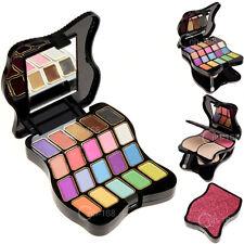 Make Up Set New Eyeshadow Lip Gloss Palette Foundation Powder Blusher Puff Tool
