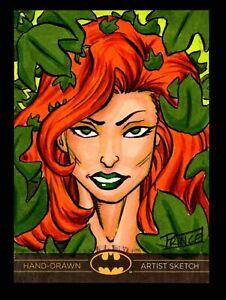 DC Comics Batman: The Legend 2013 Cryptozoic Sketch Card by Buddy Prince
