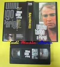 film VHS ULTIMO TANGO A PARIGI marlon brando L'UNITA' COLLECTION (F33**) no dvd