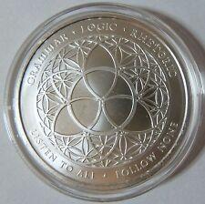 2015 Silver Shield Collection Trivium 1oz .999 Silver Bullion Round