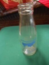 """Collectible MILK BOTTLE from ENGLAND """"Holland Farmers"""" From Cow to Customer"""